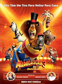 Festival Kids Cinemark – Madagascar 3