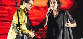 Frejat e Zelia Duncan em show em Londrina