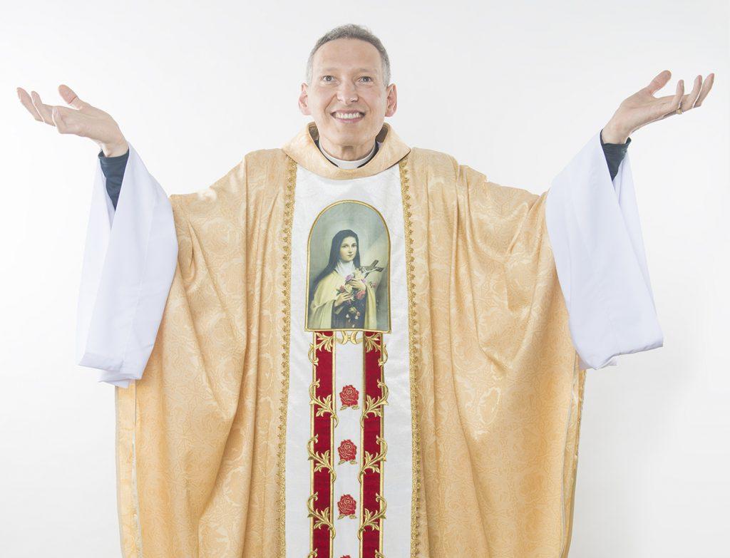 Padre Marcelo Rossi lança livro Metanoia