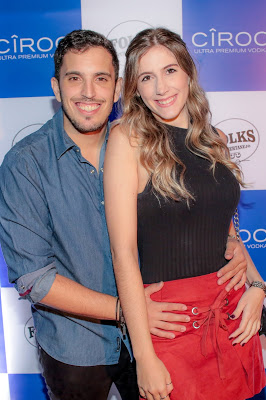 Rafael Homse e Bárbara Calsavara