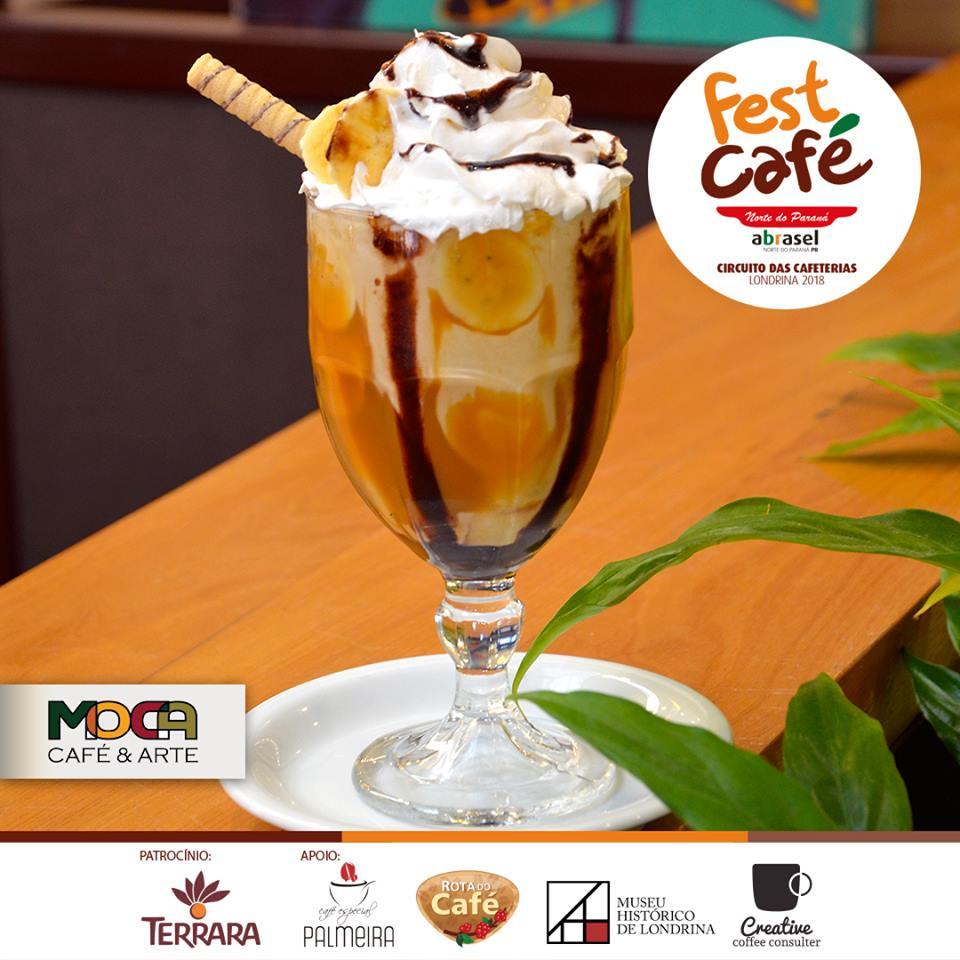 Banoffe Coffee Shake na Moca em Londrina