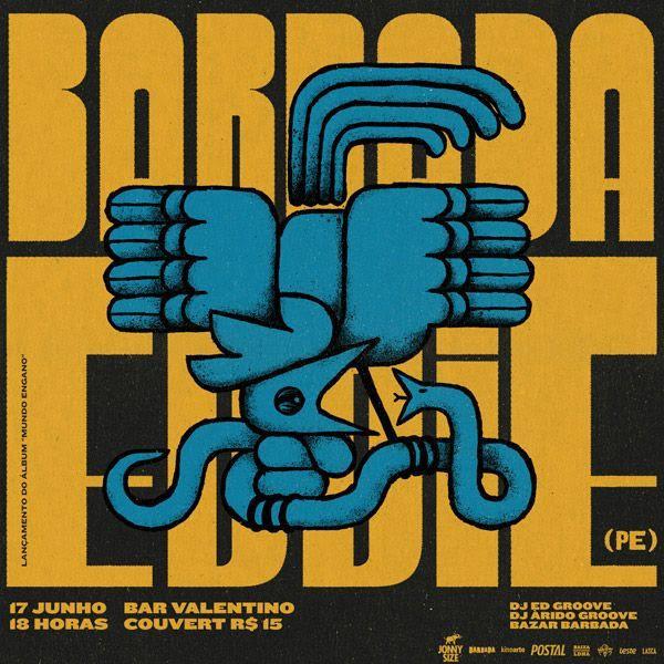 Barbada apresenta: Eddie (PE) - Lançamento do álbum