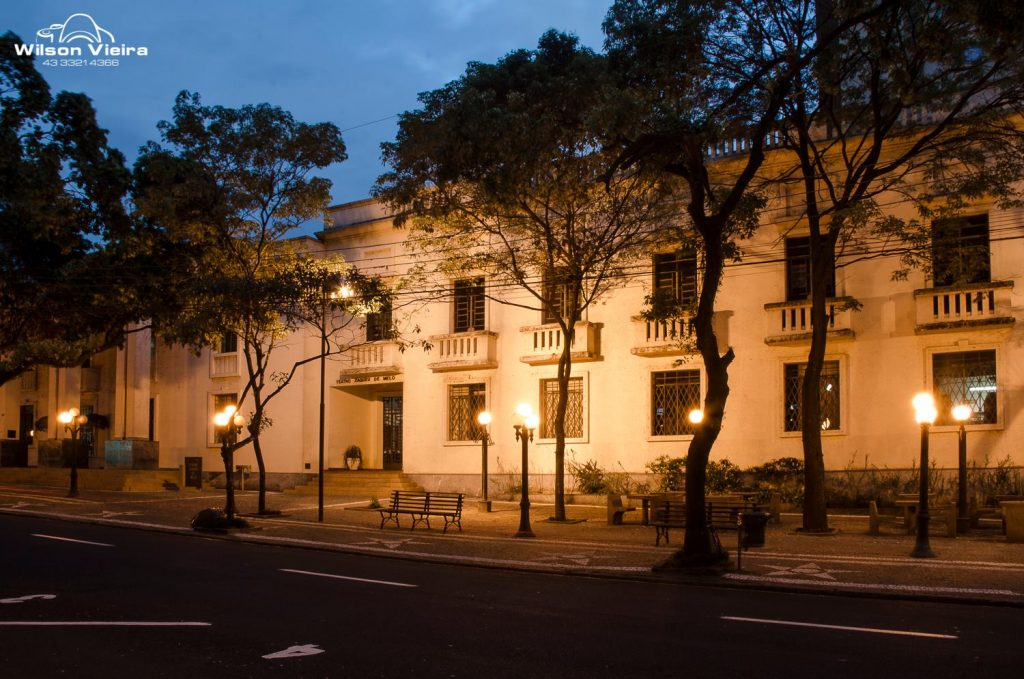 Pontos turísticos de Londrina: Biblioteca Pública Municipal e Teatro Municipal Zaqueu de Melo em Londrina