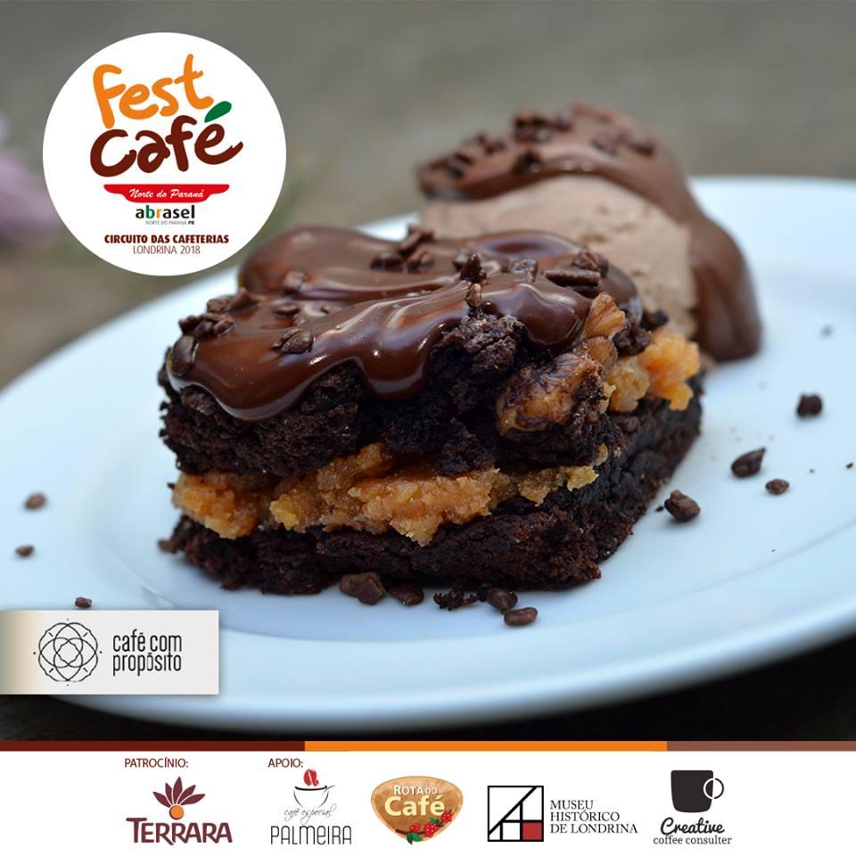 Fest Café 2018: Brownie Café com Propósito em Londrina