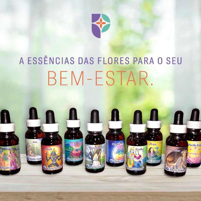 Essências Florais na Farmácia Passiphlora em Londrina