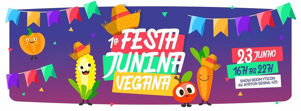 1ª Festa Junina Vegana em Londrina