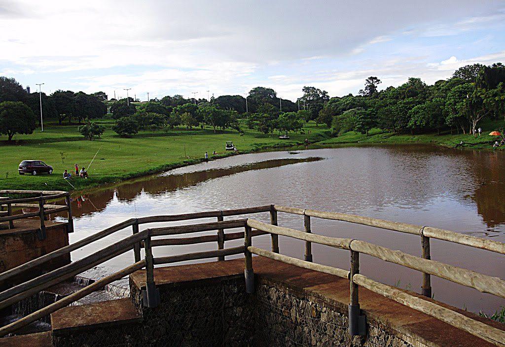 Pontos turísticos de Londrina: Lago Cabrinha em Londrina