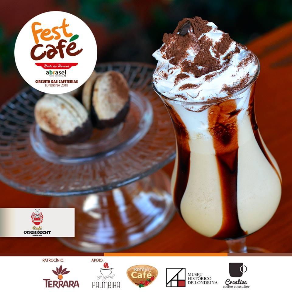 Fest Café 2018: macaron de café na Cafeteria Odebretch em Londrina
