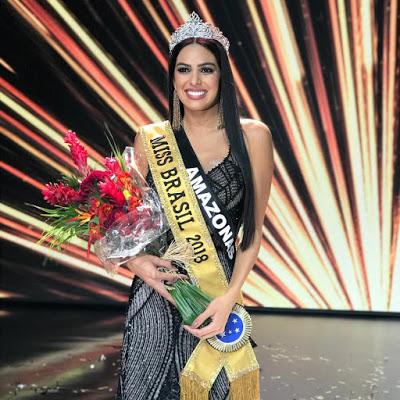 Miss Amazonas foi considerada a mulher mais linda do país em 2018