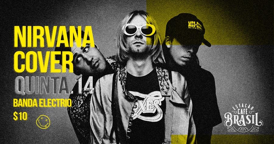 O Estação Café Brasil vai reviver o grunge e botar você pra cantar como o Kurt Cobain!