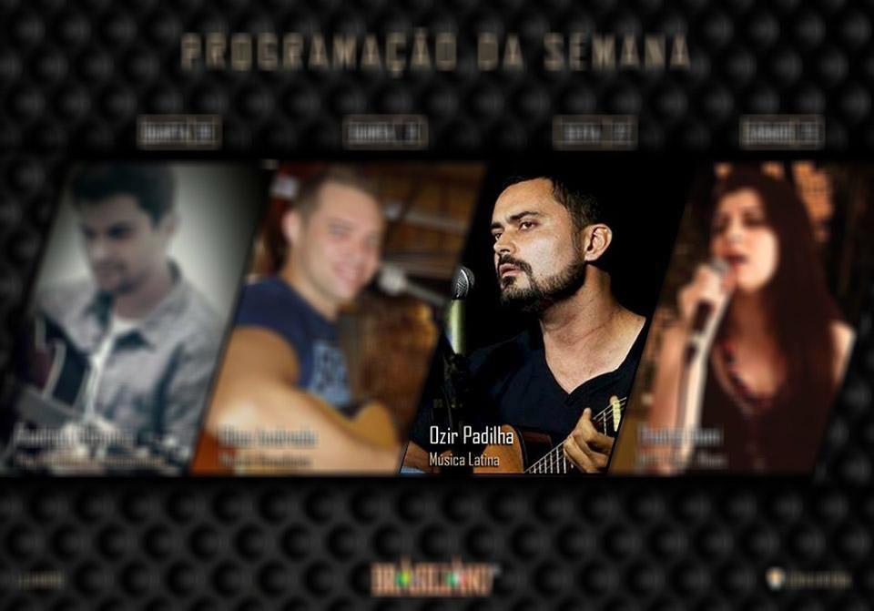 Ozir Padilha toca músicas latinas no Brasiliano