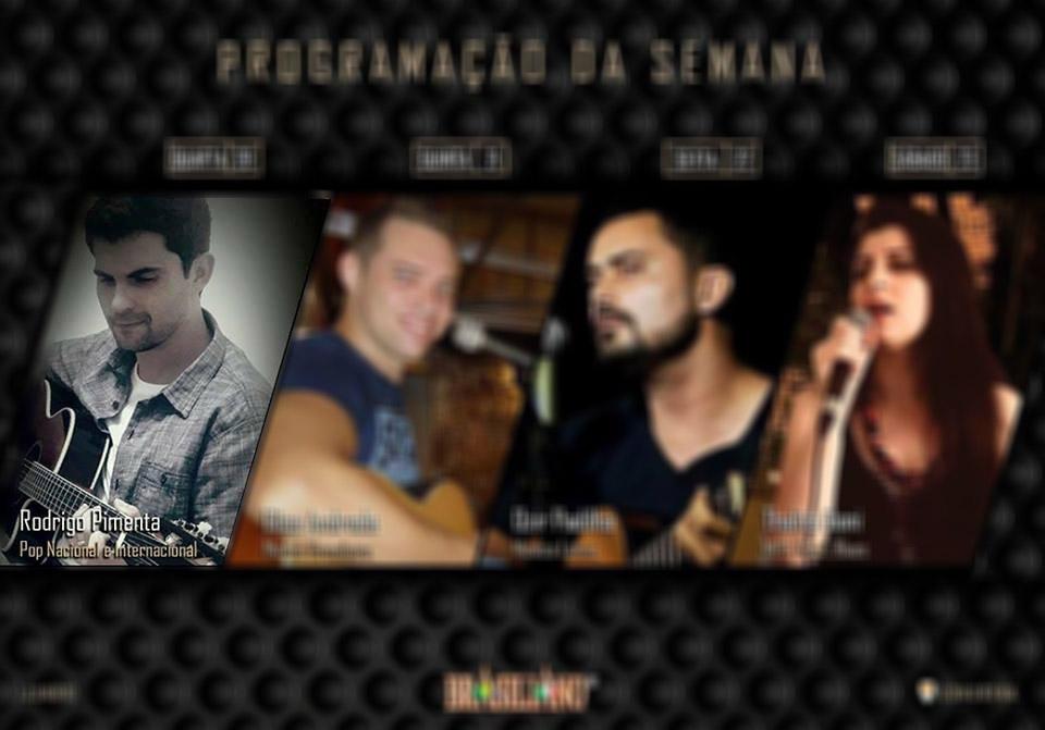 Rodrigo Pimenta tocando o melhor do pop nacional e internacional