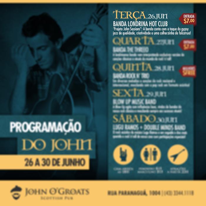 Projeto John Sessions: Banda Londrina Hot Club