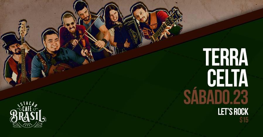Os meninos desordeiros do Terra Celta estão chegando no palco do Estação Café Brasil!