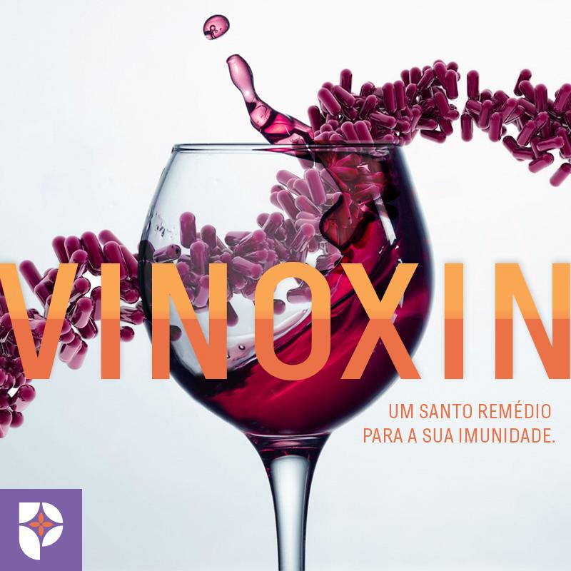 Farmácia Passiphlora: Vinoxin tem ação antioxidante