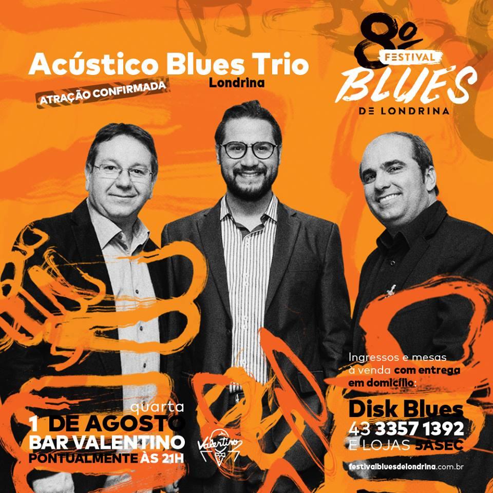 Acústico Blues Trio no 8º Festival de Blues de Londrina