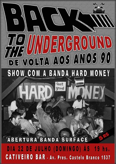 Cativeiro bar: Back to the underground
