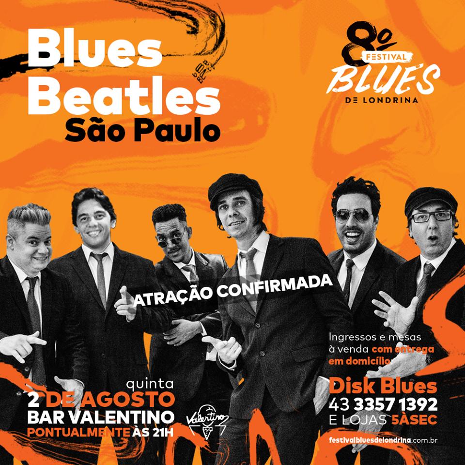Blues Beatles no 8º Festival de Blues de Londrina