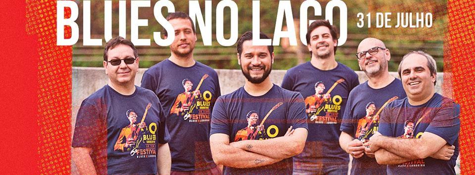 Blues no Lago no dia 31 de julho em Londrina