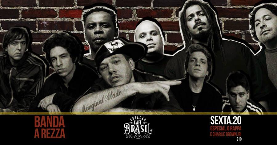 Estação Café Brasil: Banda A Rezza