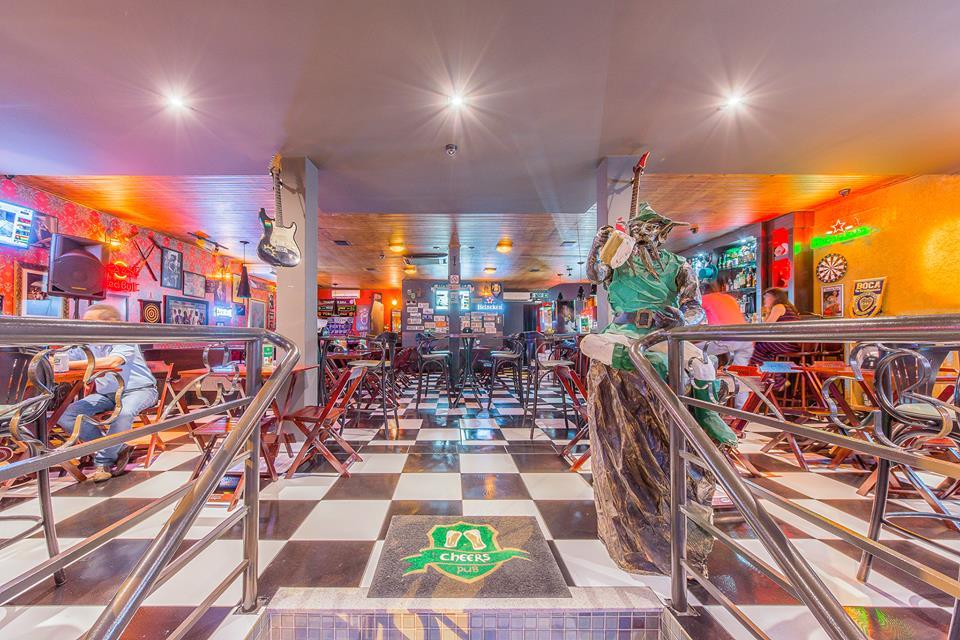 Pubs de Londrina: Cheers Pub