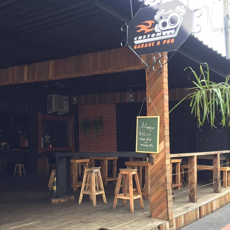 Pubs de Londrina: Custom Garage & Pub