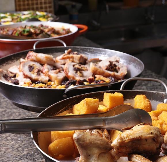 Almoço no domingo em Londrina: Dá Licença (João Cândido)