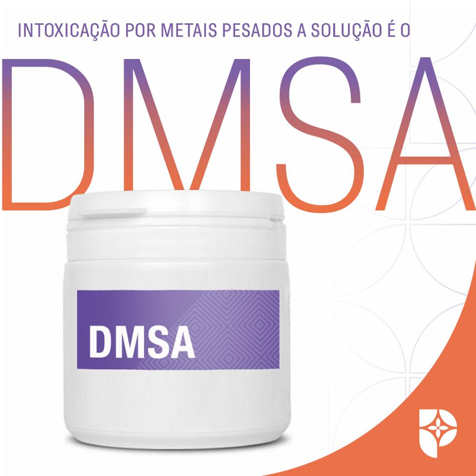 DMSA é a solução para a intoxicação por metais pesados