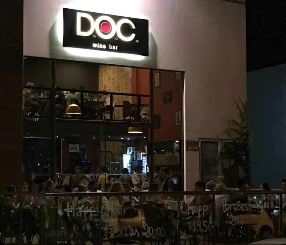 Bares em Londrina: D.O.C. Wine Bar