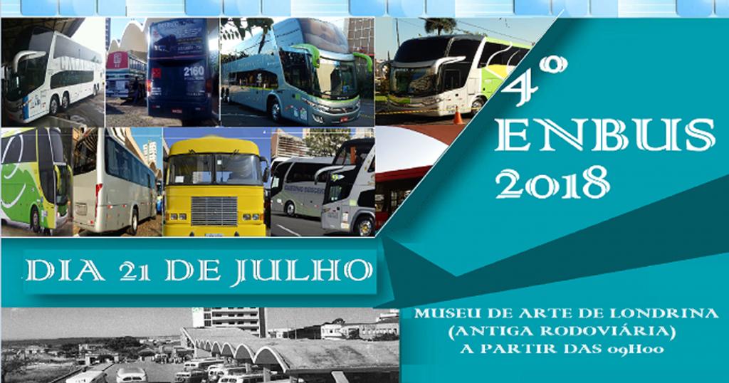 Enbus será no dia 21 de julho em Londrina