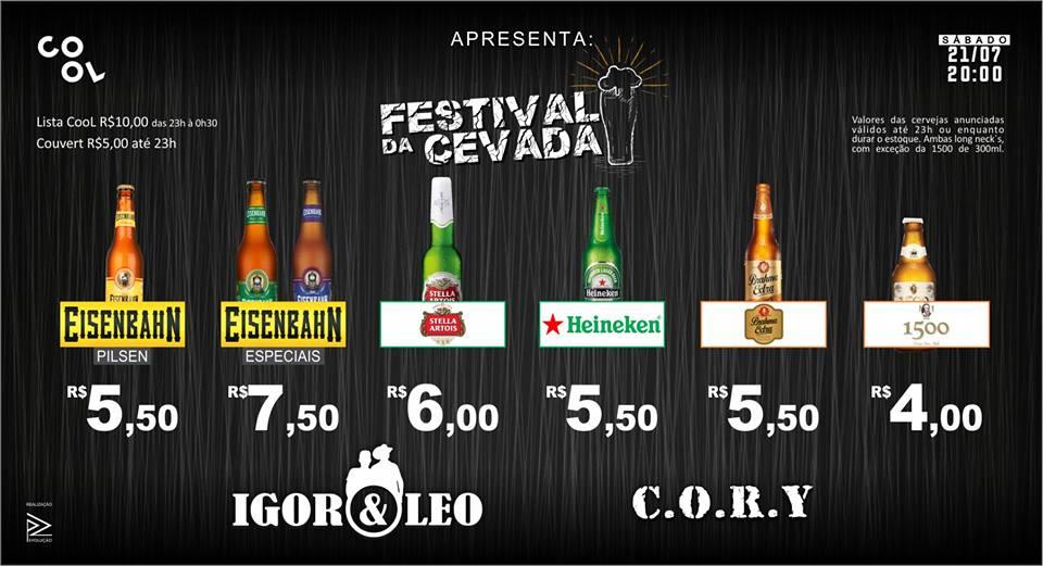 Cool: Festival da Cevada