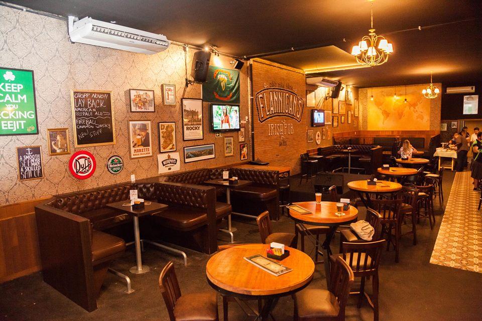 Pubs de Londrina: Flannigan's