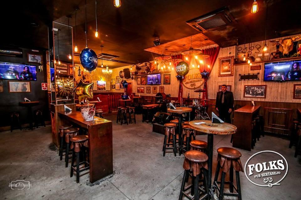 Pubs de Londrina: Folks