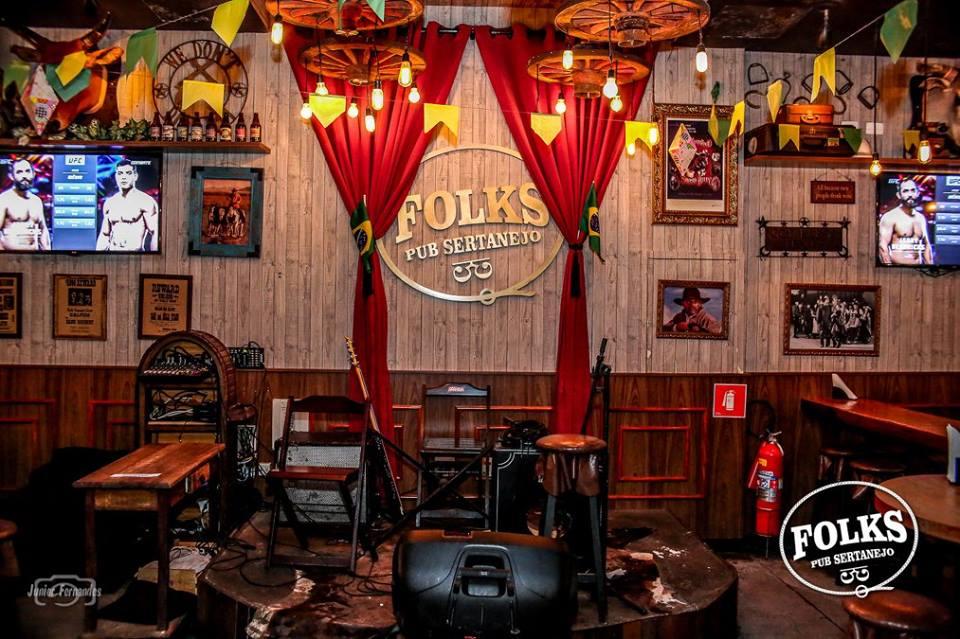 Bares em Londrina: Folks Pub Sertanejo