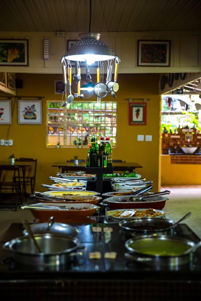 Almoço no domingo em Londrina: Frutal do Campo