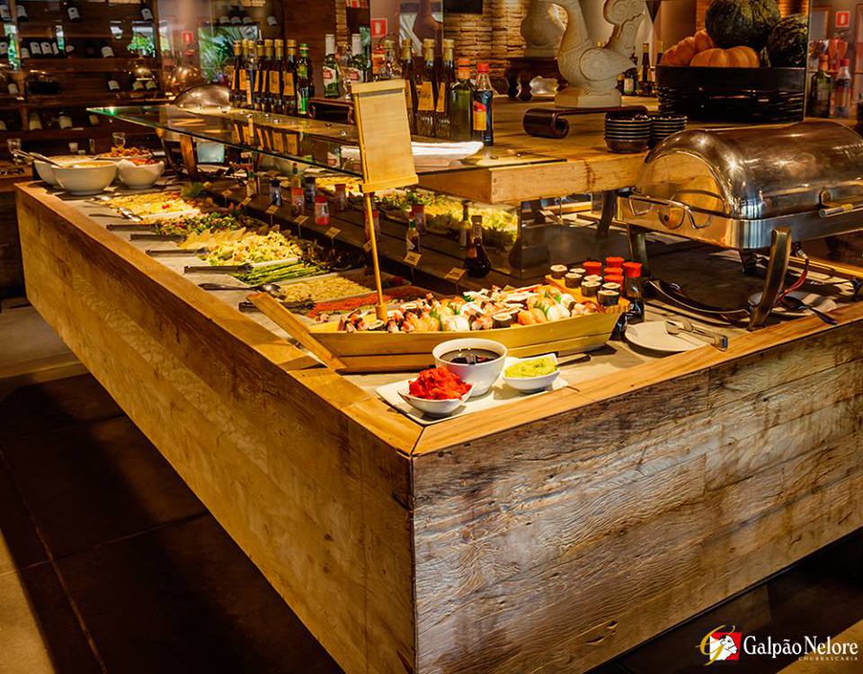 Almoço no domingo em Londrina: Galpão Nelore