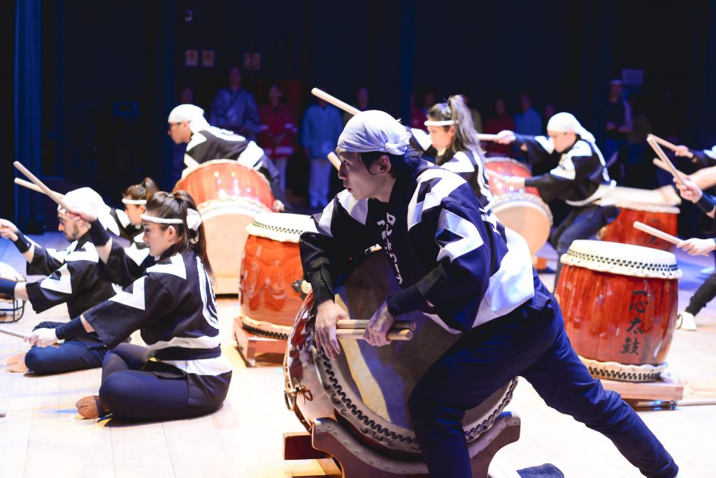 Ishindaiko se apresenta no 38º Festival Internacional de Música de Londrina