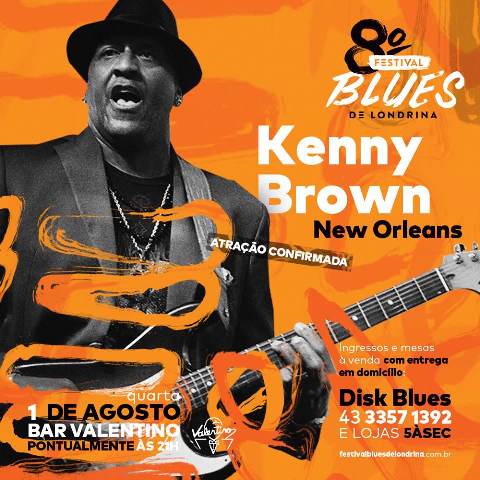 Kenny Brown no 8º Festival de Blues de Londrina
