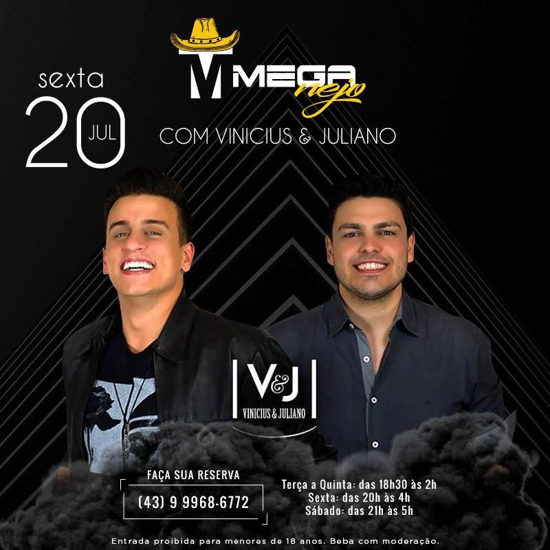 Mega Lounge: Meganejo com Vinicius & Juliano