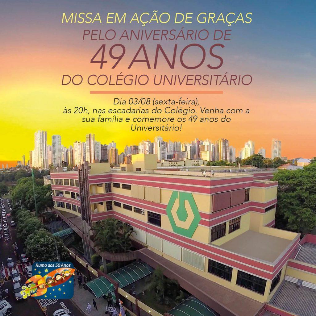 Missa pelo aniversário do Colégio Universitário de Londrina