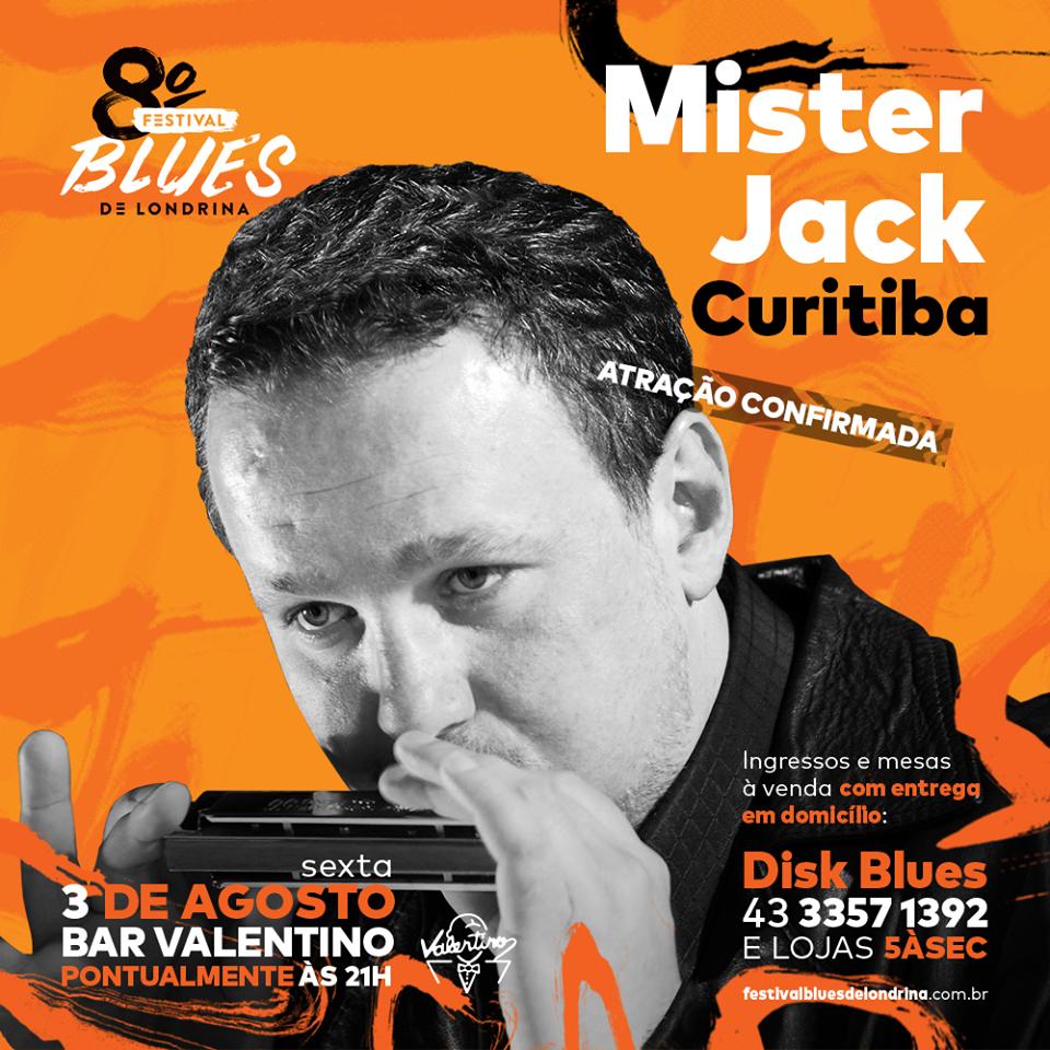 Mister Jack no 8º Festival de Blues de Londrina