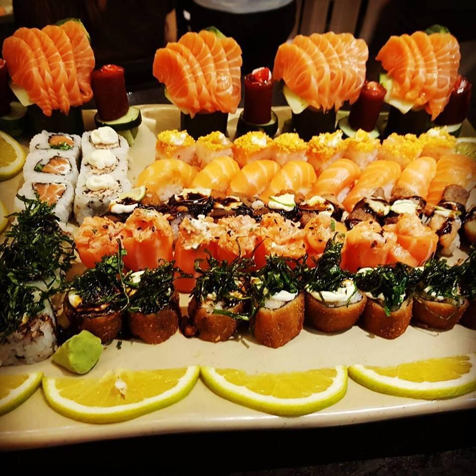 Almoço no domingo em Londrina: Niwa Sushi