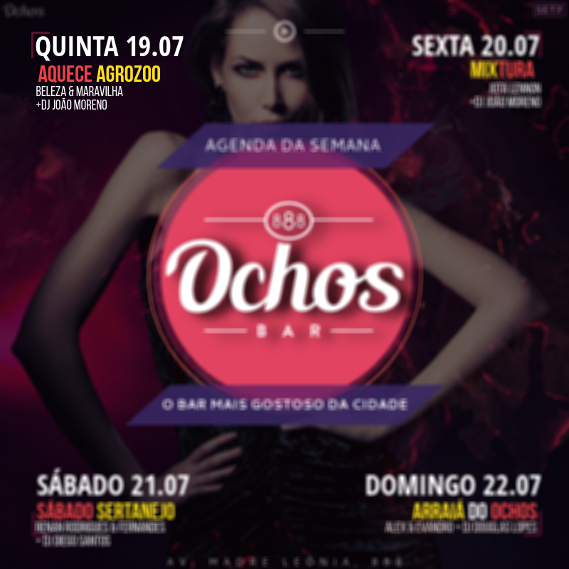 Ochos Bar: Aquece Agrozoo
