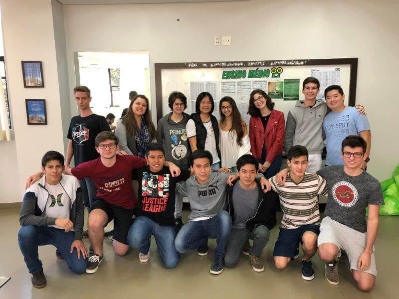 Alunos do Colégio Universitário de Londrina são destaque na Olimpíada Paranaense de Química