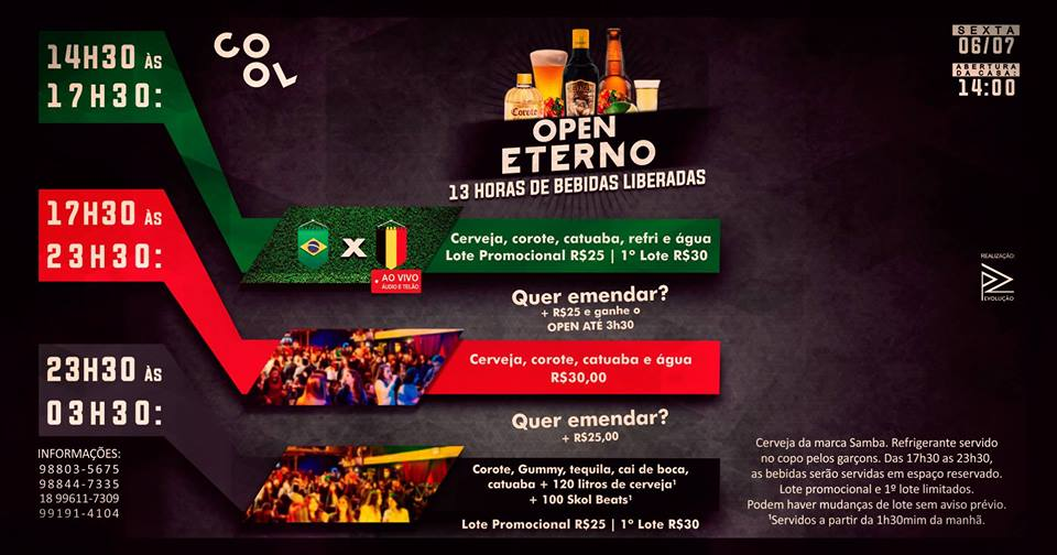 O HEXA já é realidade e para comemorar as quedas do Neymar, faremos um evento para ficar na história!