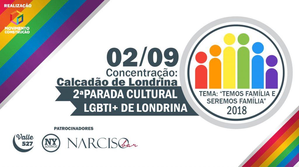 2º Parada Cultural LGBTI+ de Londrina