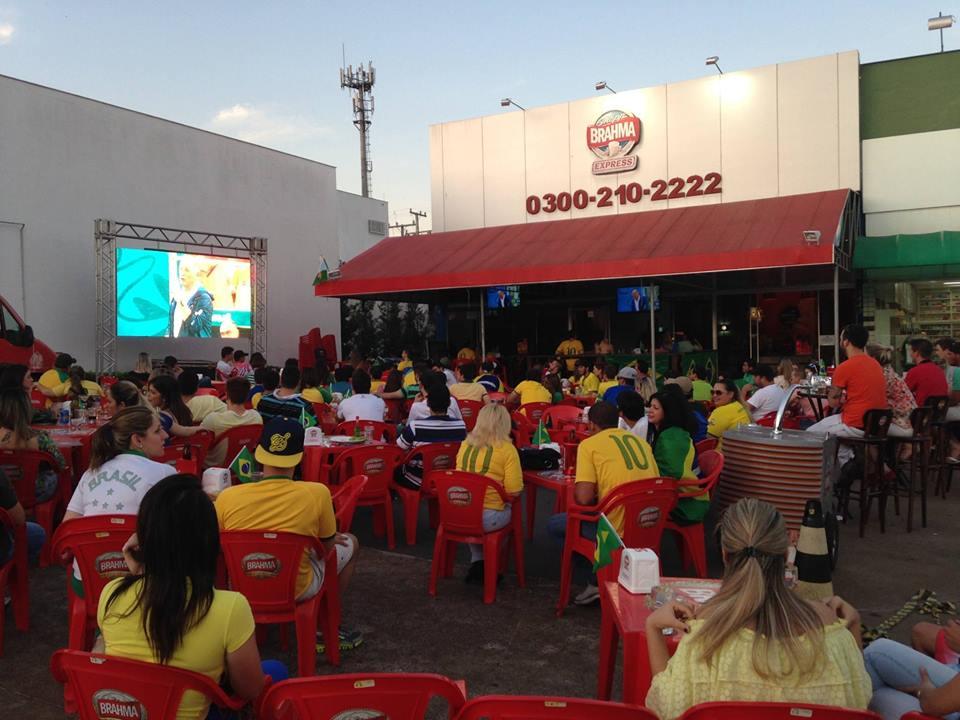 Bares em Londrina: Quiosque Brahma