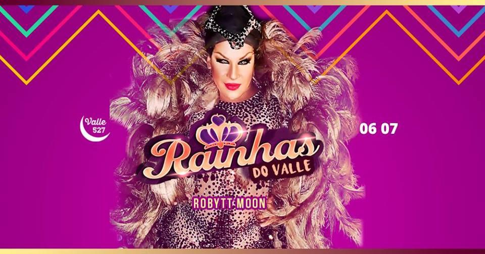 Dessa vez, teremos uma atração babadeira com um show cheio de bate cabelo da diva Robytt Moon