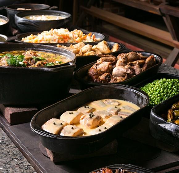 Almoço no domingo em Londrina: Recanto Dá Licença