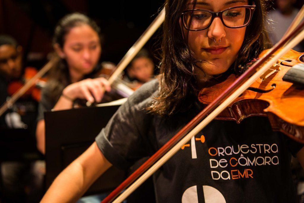Orquestra de Câmara da Rocinha se apresenta no 38º Festival Internacional de Música de Londrina